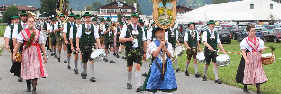 100 Jahre GTEV D´Funtenseer Schönau am Königssee Festzug 2019
