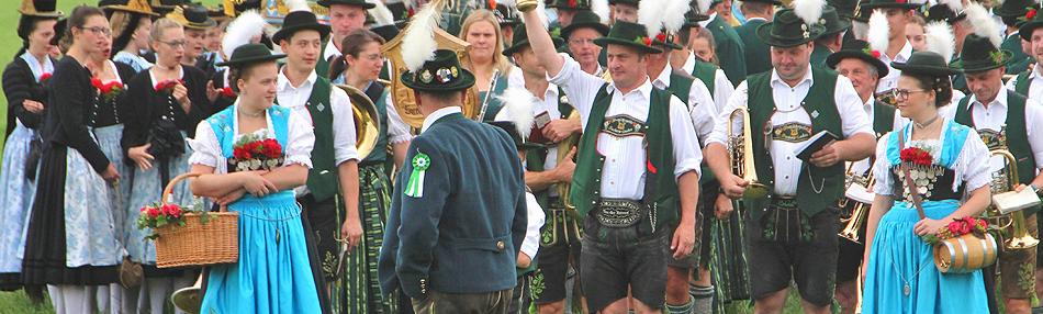 100 Jahre GTEV Chiemseer Chieming Festzug 2019