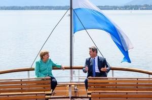 Merkelbesuch Herrenchiemsee