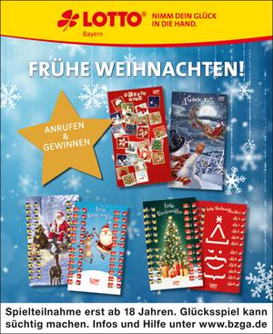 Lotto Bayern Adventskalender 2020