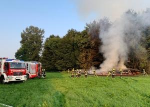 Scheunenbrand Grabenstätt