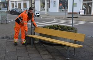 Sitzbänke Traunstein