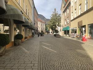 Fußgängerzone Reichenhall