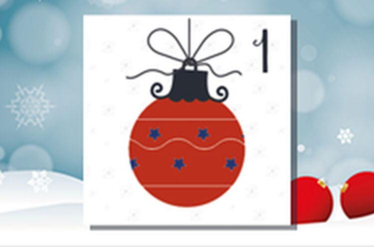 Adventkalender Tuer 1