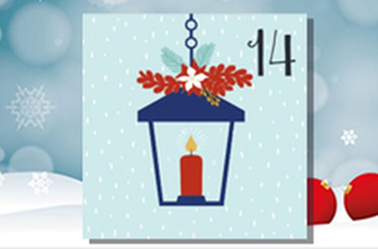 Adventkalender Tuer 14