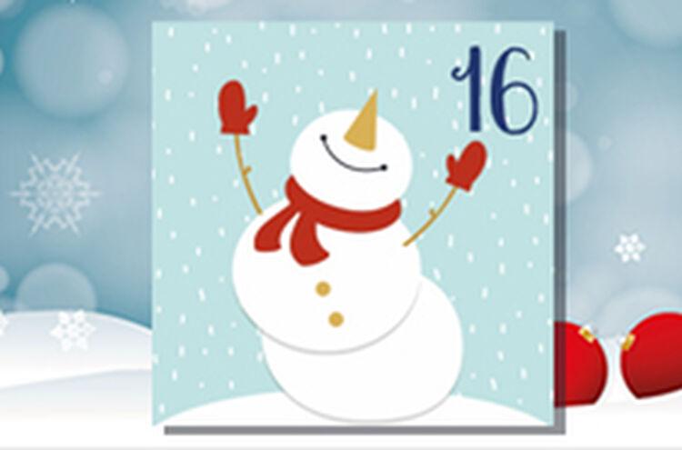 Adventkalender Tuer 16
