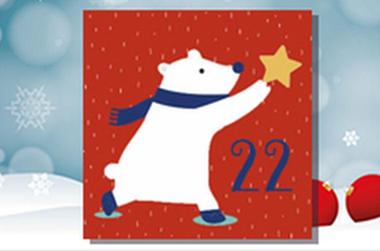 Adventkalender Tuer 22