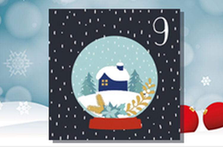 Adventkalender Tuer 9