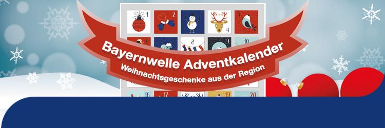 Bayernwelle Adventskalender 2020 - Unterseite