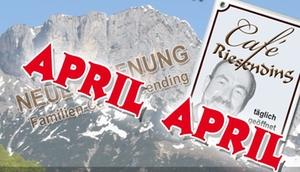 Aprilscherz Riesending