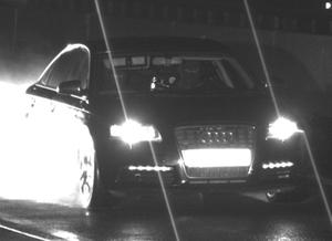Flucht Autobahn Audi
