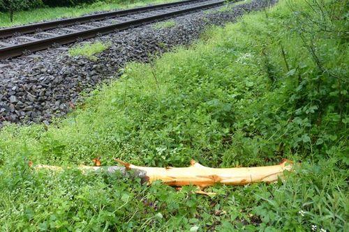 Bahn Unfall 18