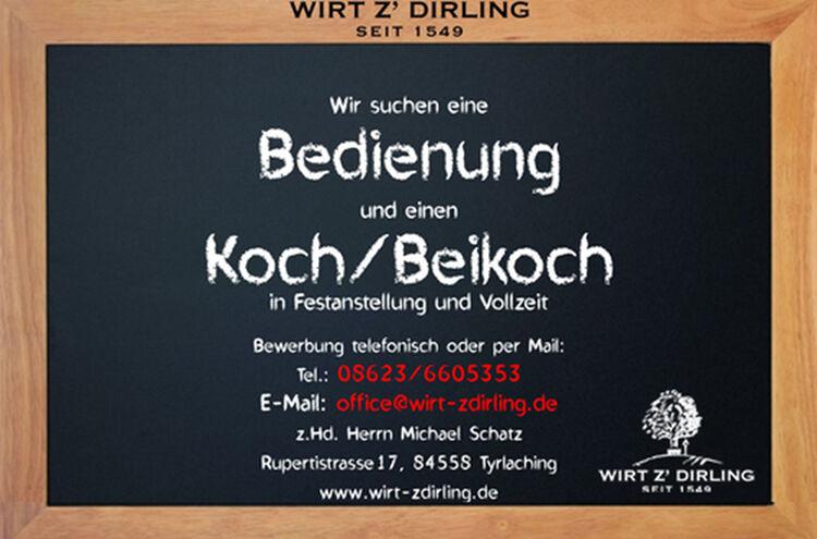 Banner Wirt Zdirling 2