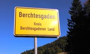 Berchtesgadener Ortsschild