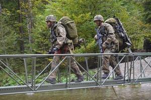 Bundeswehr-Übung Berglöwe
