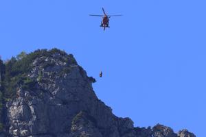 Bergunfall Lattengebirge