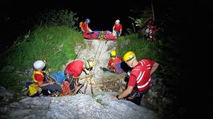 Bergwacht Rettung