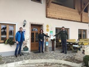 Besuch Huberhof