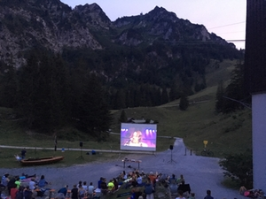Open Air Kino Hochfelln