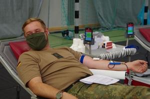Blutspende Soldaten