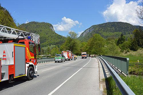 Brk Bgl Motoradunfall Unterau 4