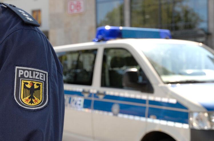Bundespolizei Bahnhofsgebaeude 1