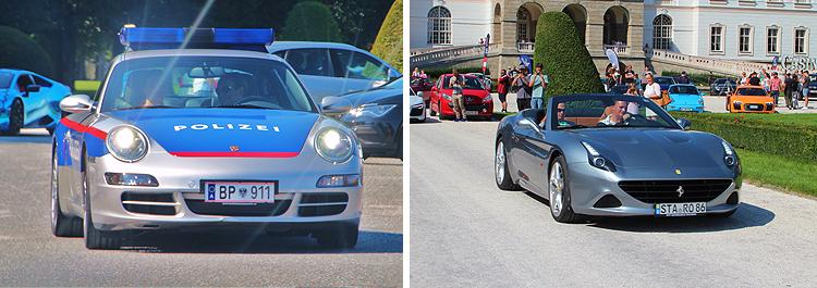 Cars and Coffee Sportwagentreffen Salzburg 2018 Schloss Klessheim