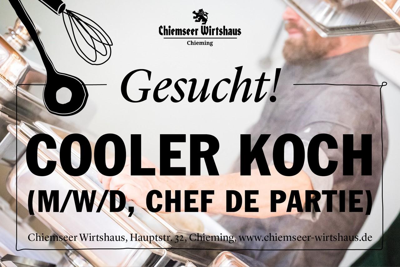 Chiemseer Wirtshaus Banner Koch
