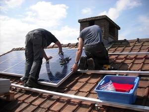 Dachdecker Arbeiter