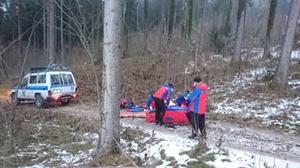 60-Jähriger stürzt schwer
