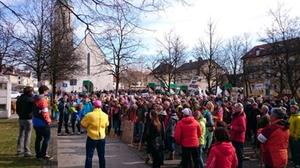 Demo Freilassing Februar