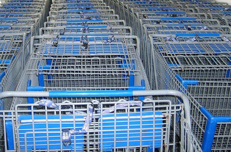 Einzelhandel Einkaufen Supermarkt Symbolbild