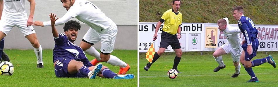 Fussball ESV Freilassing vs. VfB Forstinning 26 September 2020