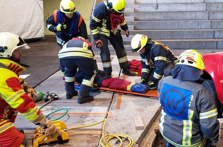Feuerweheren Ausbildung