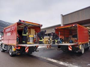 Feuerwehrhilfe Kroatien