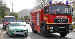 Feuerwehreinsatz Reichenhall