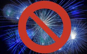 Feuerwerk Verbot