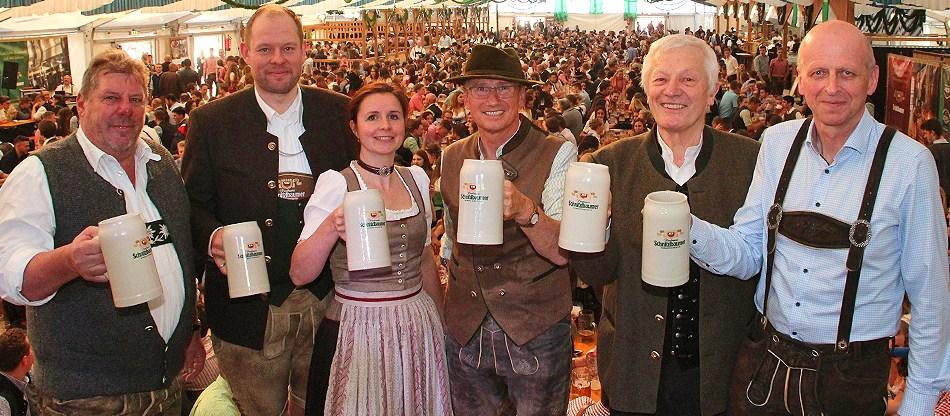 Frühlingsfest Traunstein 2019 Eröffnung