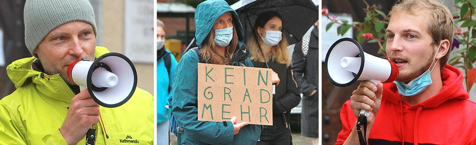 Fridays for Future Demo 25 September 2020 Bad Reichenhall