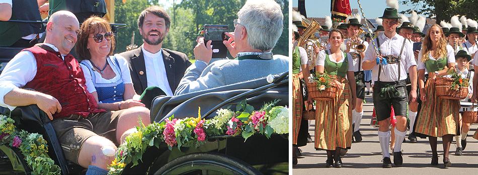 100 Jahre Trachtenverein D´Schneebergler Feldkirchen Festzug 2019