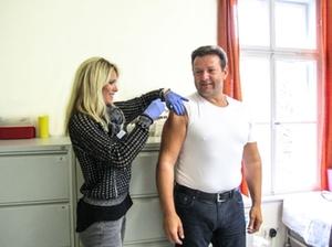 Grippeschutzimpfung Kliniken