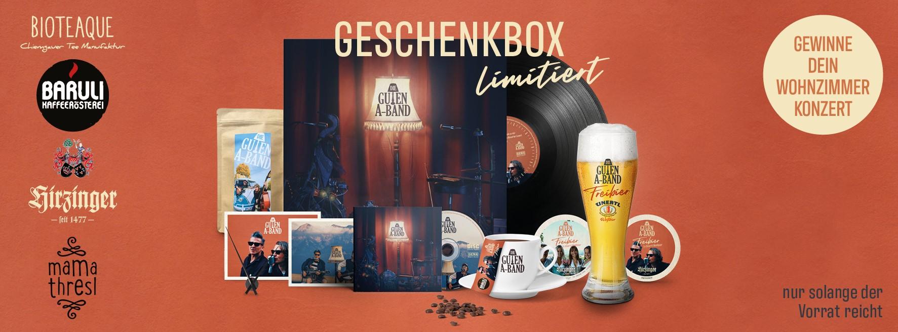 Guten-A-Band Geschenkbox