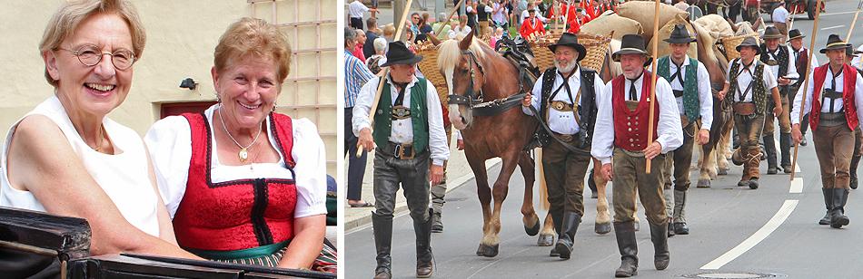 Historischer Festumzug Traunstein 11 August 2019