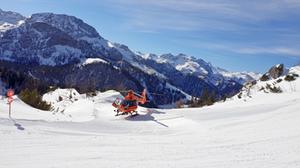 Schwere Skiunfälle Faschingswochenende
