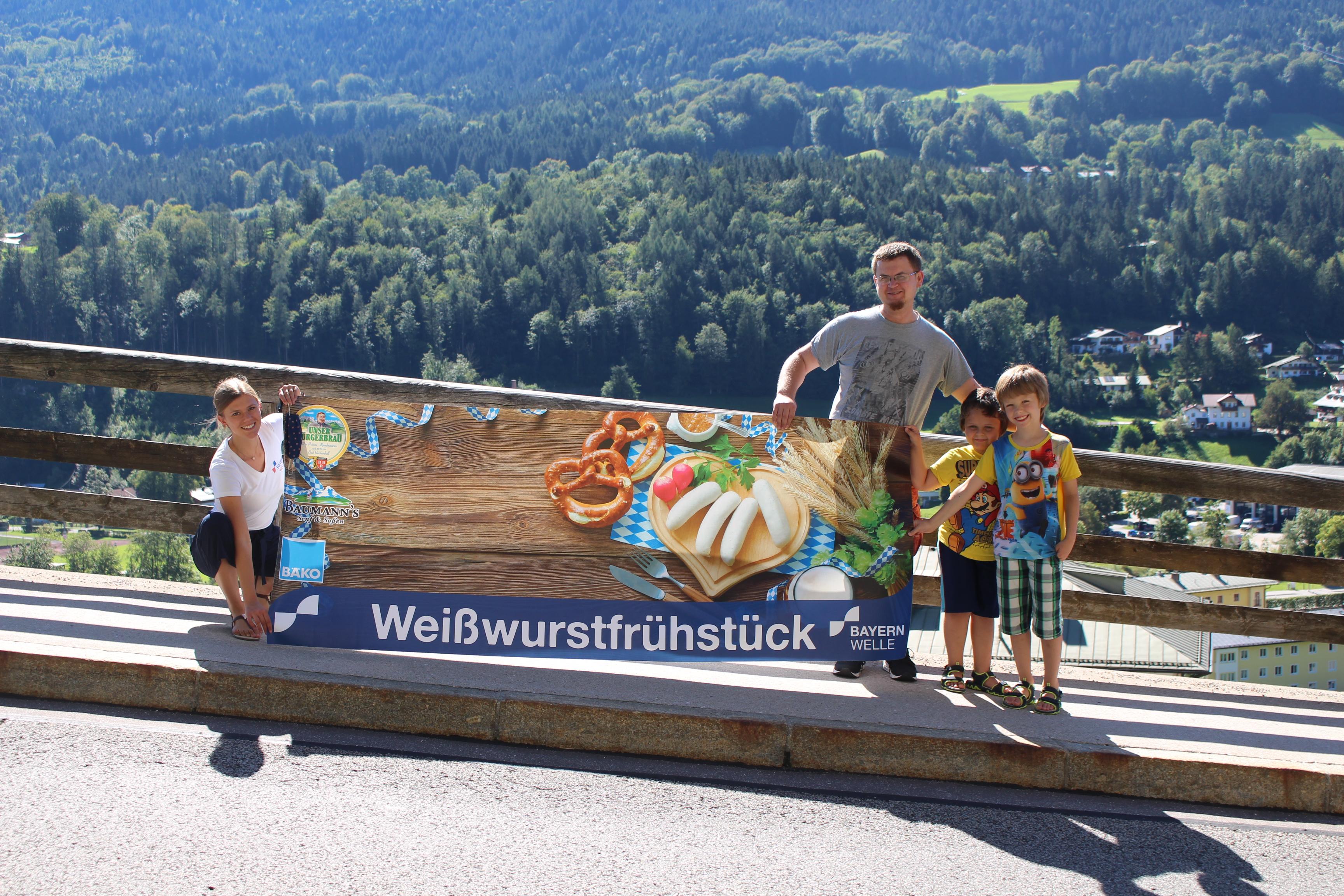 WWF Dahoam Familie Grundner