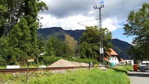 Gleis Bad Reichenhall