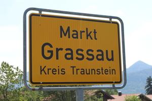 Ortsschild Grassau
