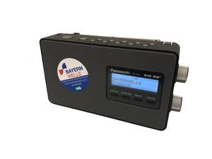Panasonic DAB+ Radio RF D-10 freigestellt