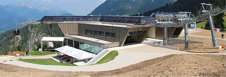 Jennerbahn Eröffnung August 2018
