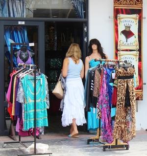 Außenständer Klamotten